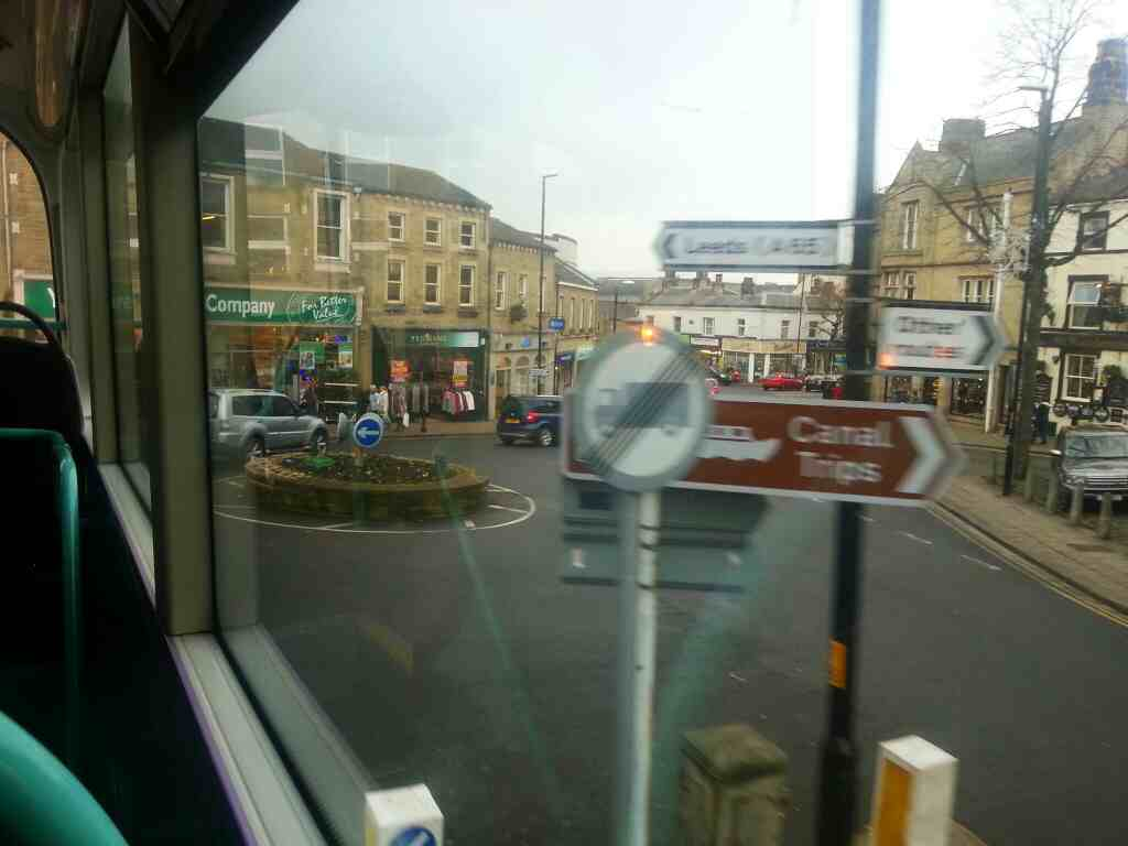 Swadford St Skipton on an X84 bus