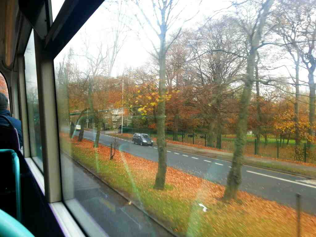 A660 Weetwood Leeds from a X84 bus