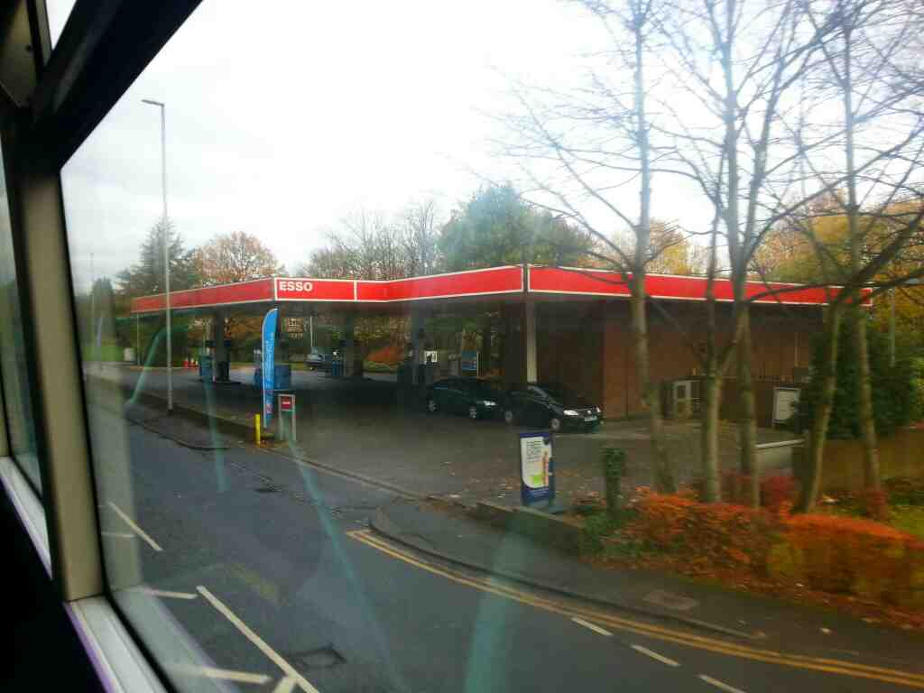 Passes Lawnswood Service Station otley Rd Leeds