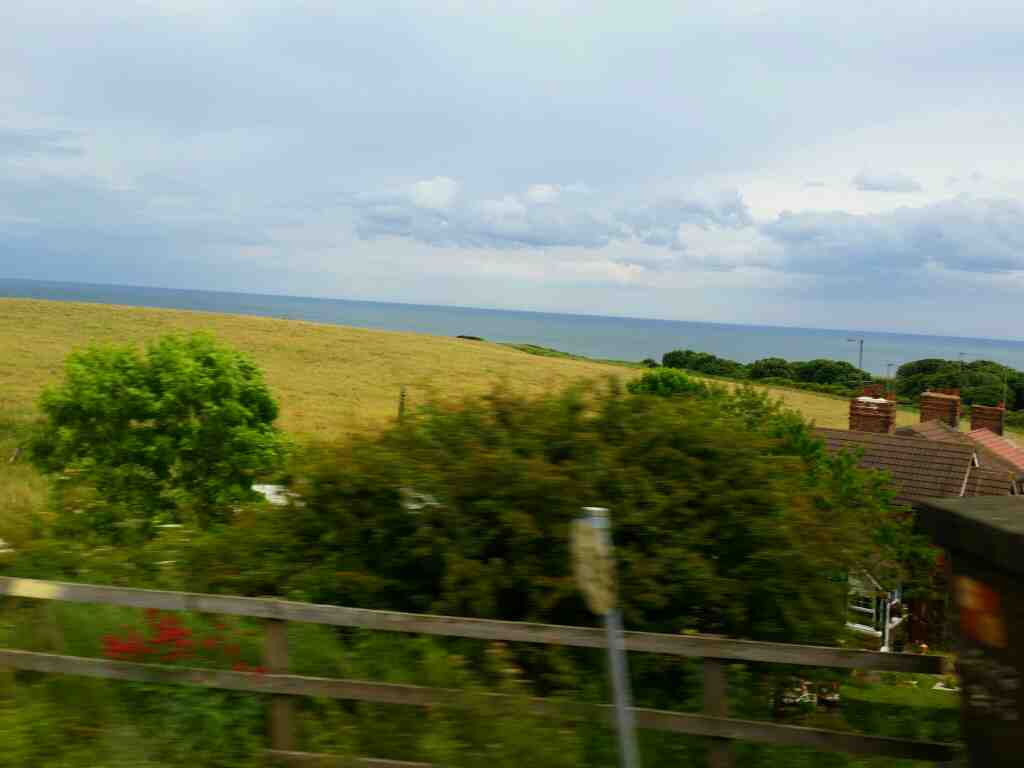 Continuing north towards Seaham on a Northern Rail Middlesbrough to Newcastle train