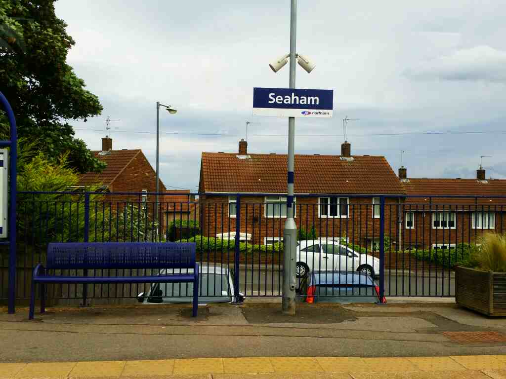 Arrived at Seaham on a Northern Rail Middlesbrough to Newcastle train
