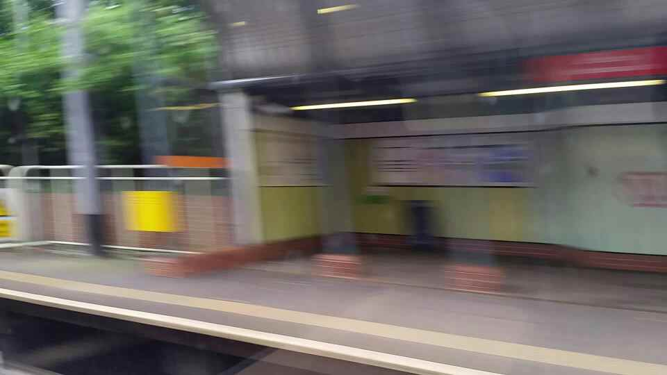 Seaburn at speed on a Northern Rail Middlesbrough to Newcastle train