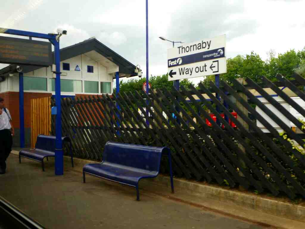 Arrived at Thornaby on a Northern Rail Middlesbrough to Newcastle train
