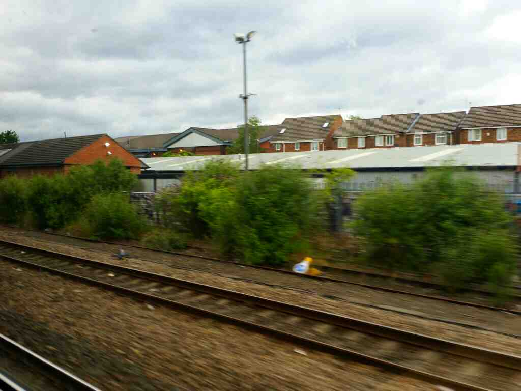 Approaching Heworth on a Northern Rail Middlesbrough to Newcastle train