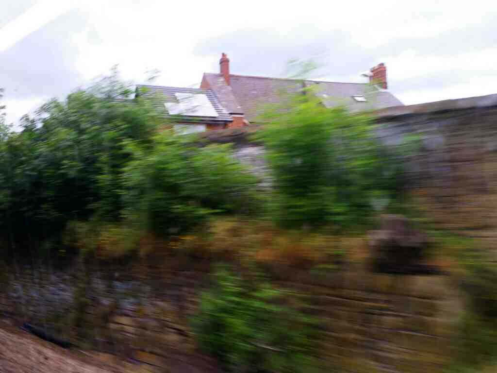 Heading away from Heworth on a Northern Rail Middlesbrough to Newcastle train