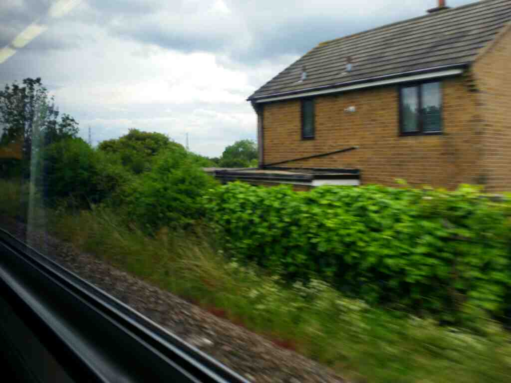 Leaving Billingham for Seaton Carew on a Northern Rail Middlesbrough to Newcastle train