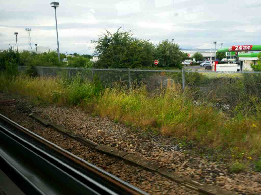Passing Asda's Hartlepool branch on a Northern Rail Middlesbrough to Newcastle train