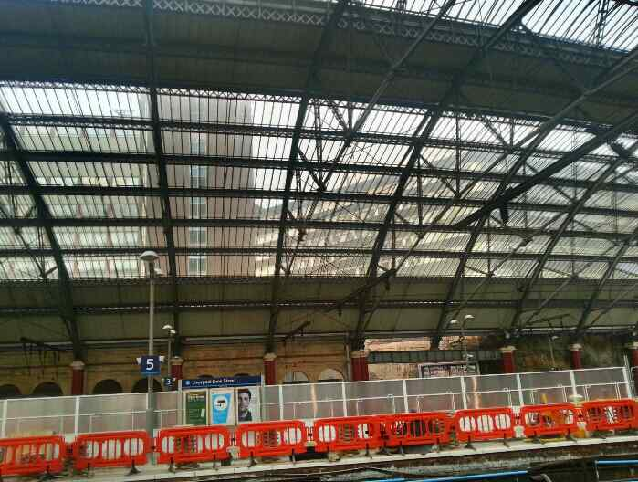 Glass Roof Lime Street