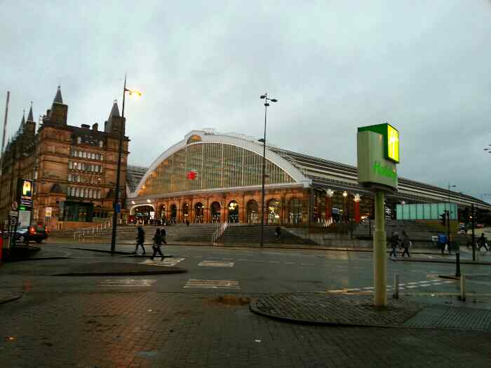 Liverpool Lime St Staition Merseryside UK