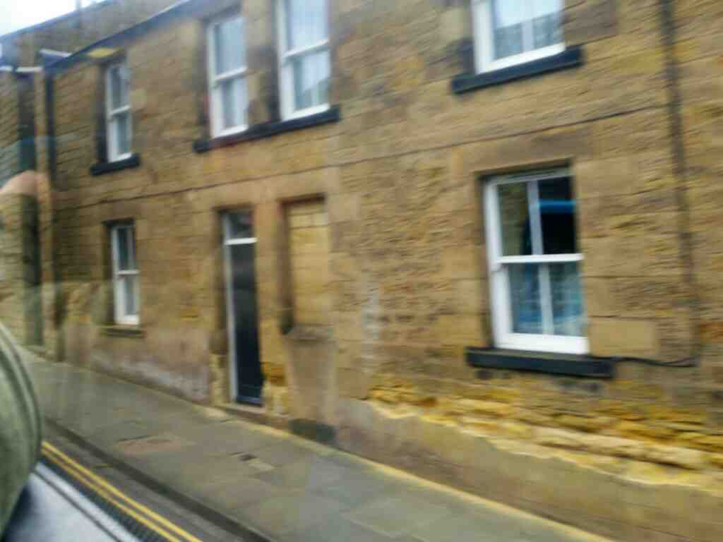 Hotspur St Alnwick on a X15 Newcastle to Berwick bus