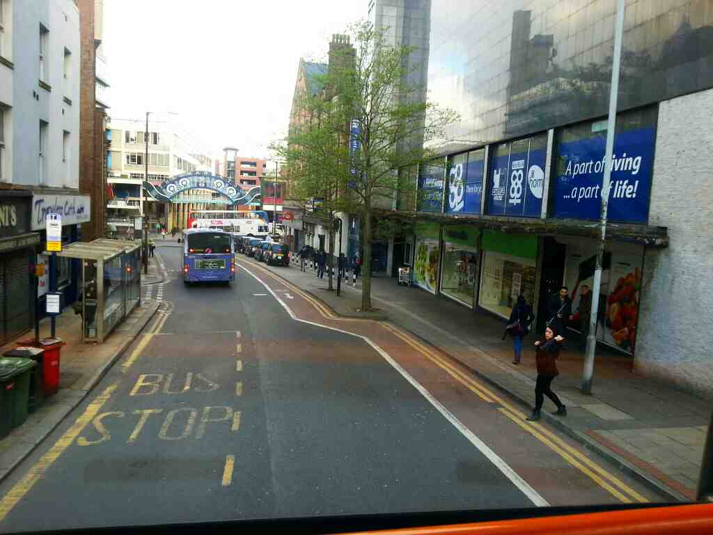 Castle St Sheffield off a 265 bus