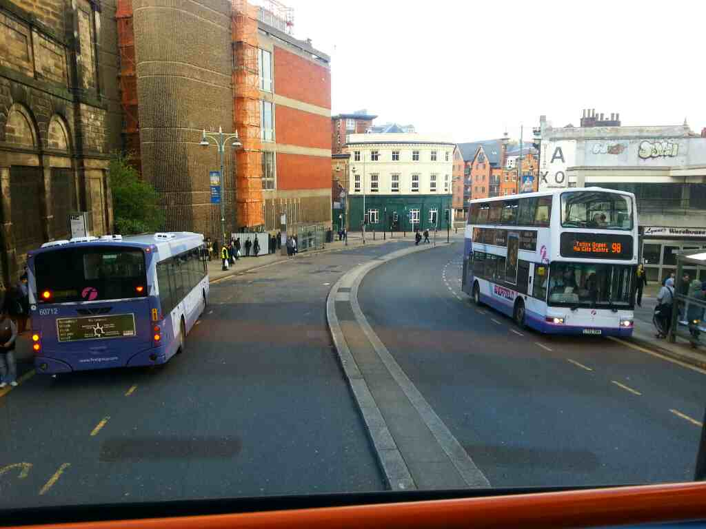 Waingate Sheffield off a 265 bus