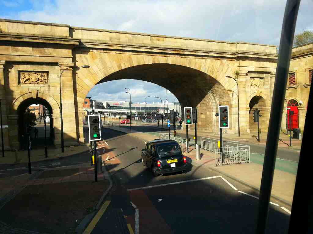 The Wicker Arches Sheffield off a 265 bus