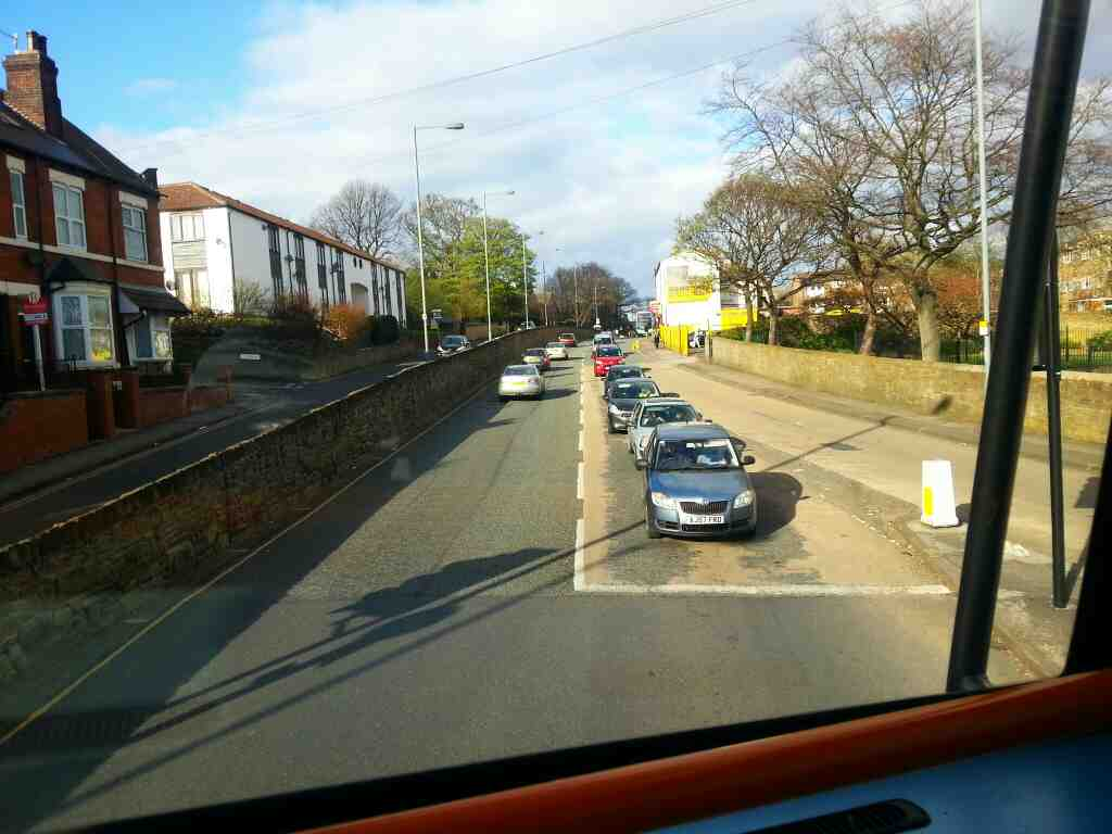 The start of Barnsley Rd Pitsmoor Sheffield off a 265 bus