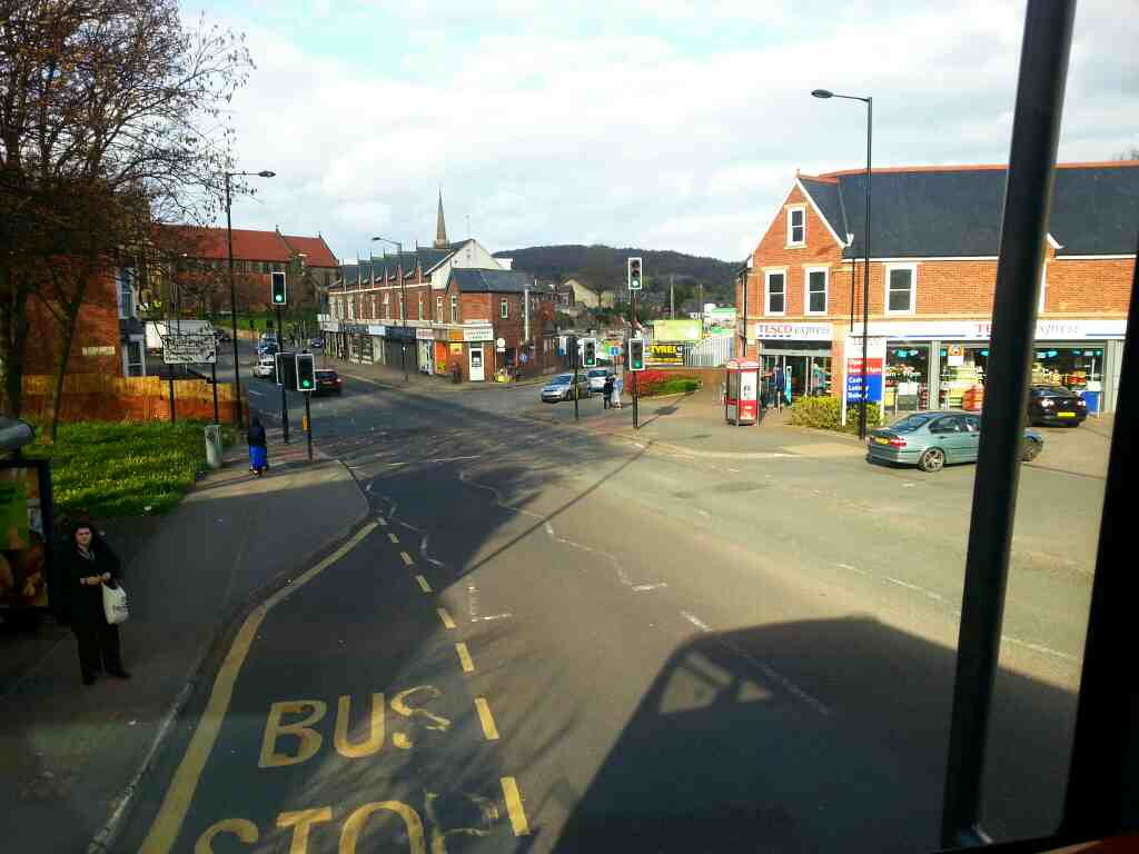 Fir Vale Sheffield Barnsley Rd on a 265 bus
