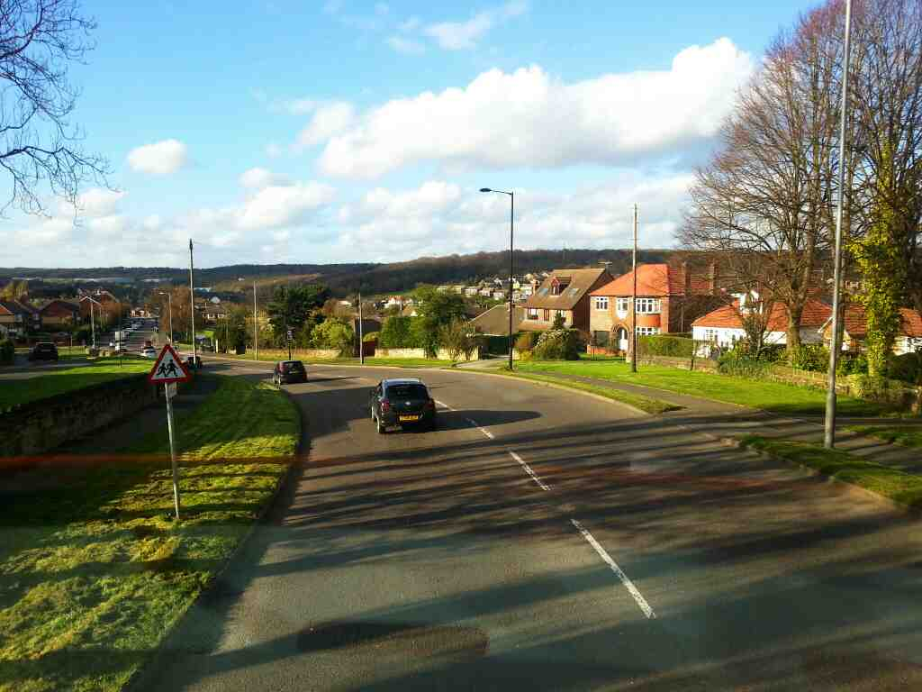 Ecclesfield Rd Chapletown Sheffield on a 265 bus