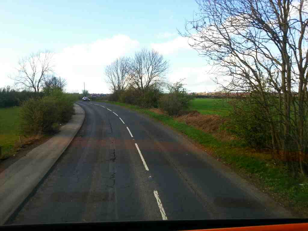 Sheffield Rd the A6135 Hoyland Barnsley off a 265 bus