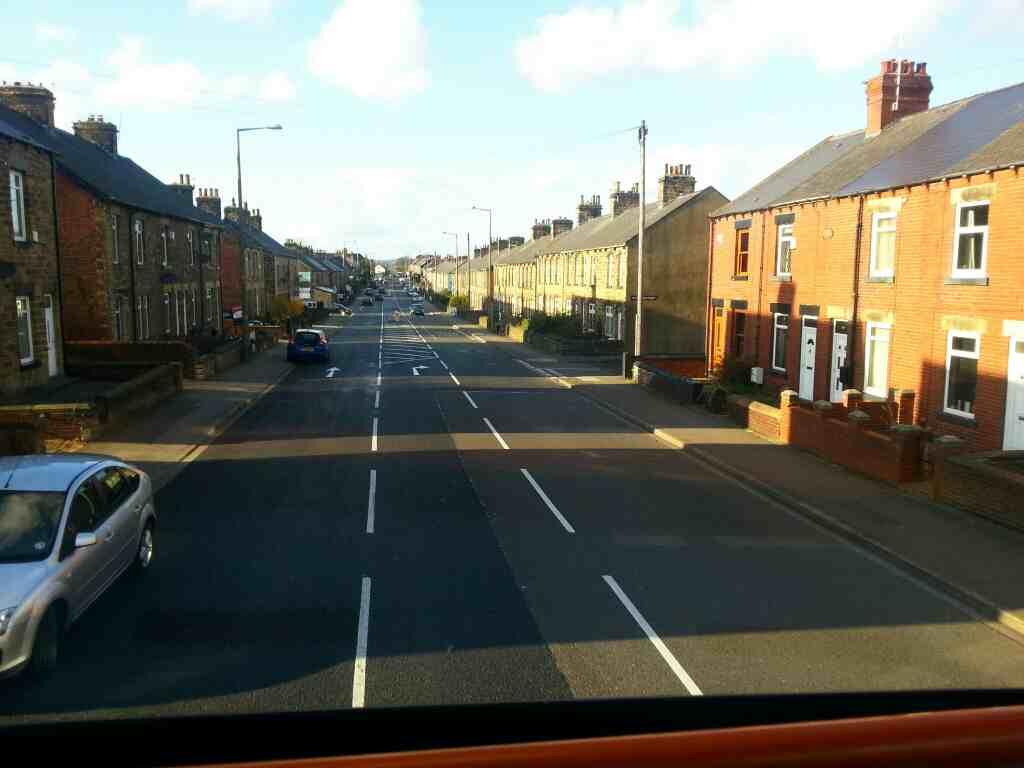Birdwell Barnsley the A61 Sheffield Rd off a 265 bus