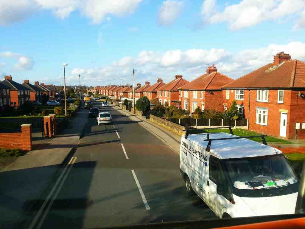 Worsbrough Rd Birdwell off a 265 bus
