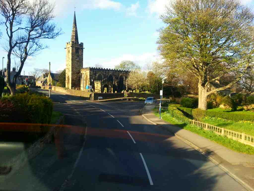 St Marys Church Worsbrough off a 265 bus
