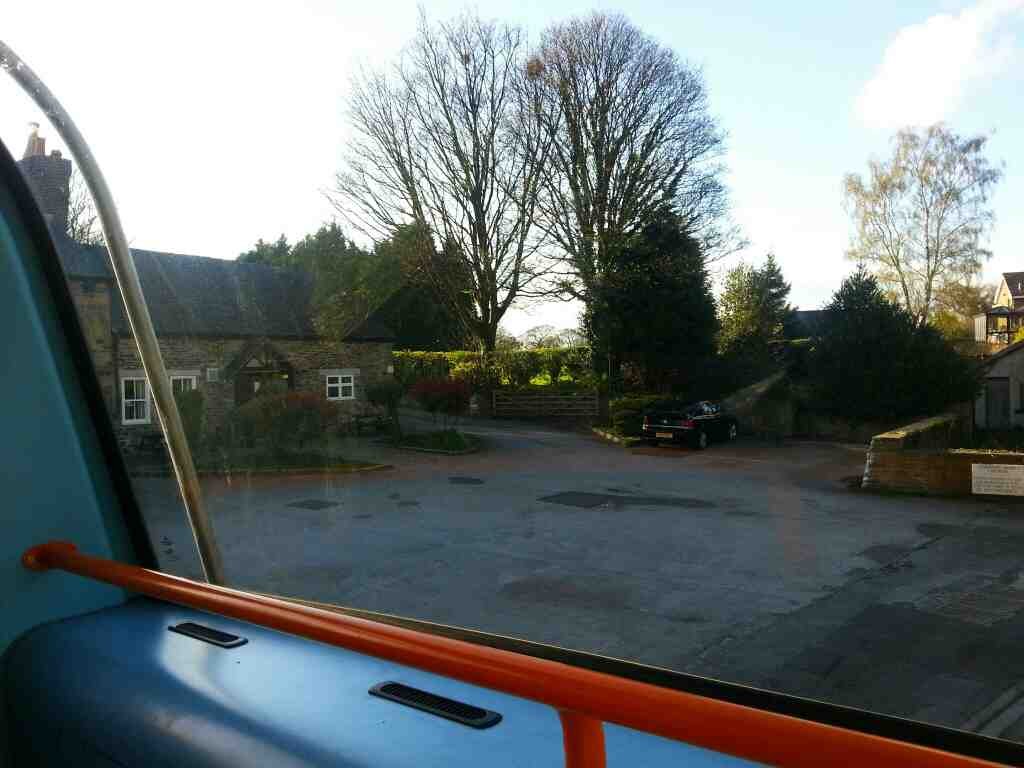 Passes the Edmunds Arms Worsbrough on a 265 Sheffield to Barnsley bus