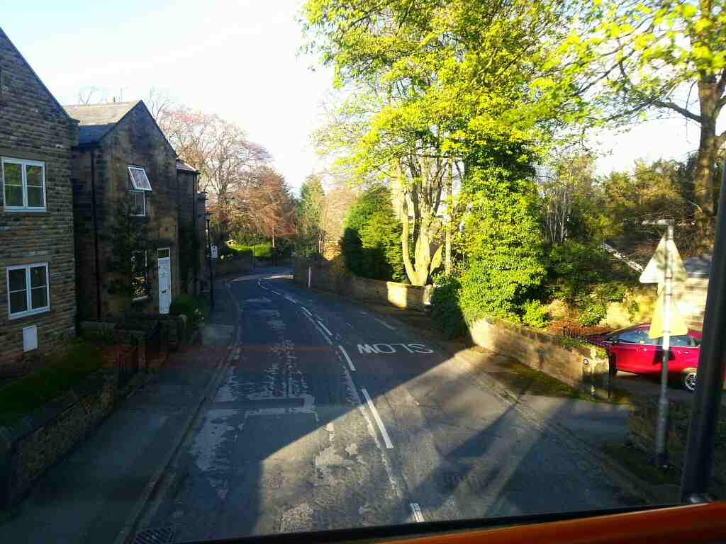 Worsbrough Villiage South Yorkshire off a 265 bus