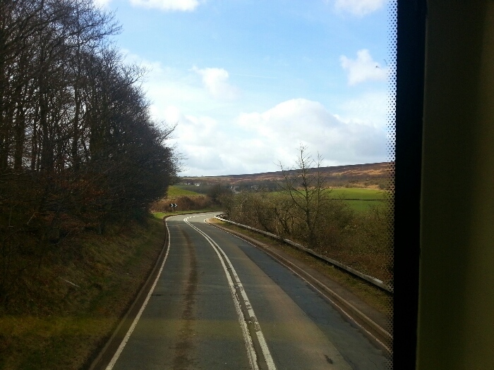 Between Totley and Gillfield Wood Terminus