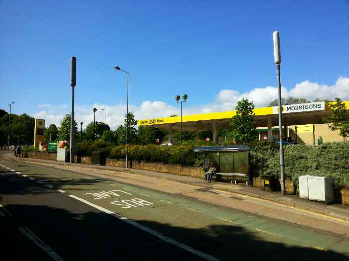 Passes Morrisons on Meadowhead Sheffield