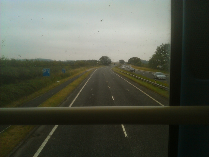 Back on the A64