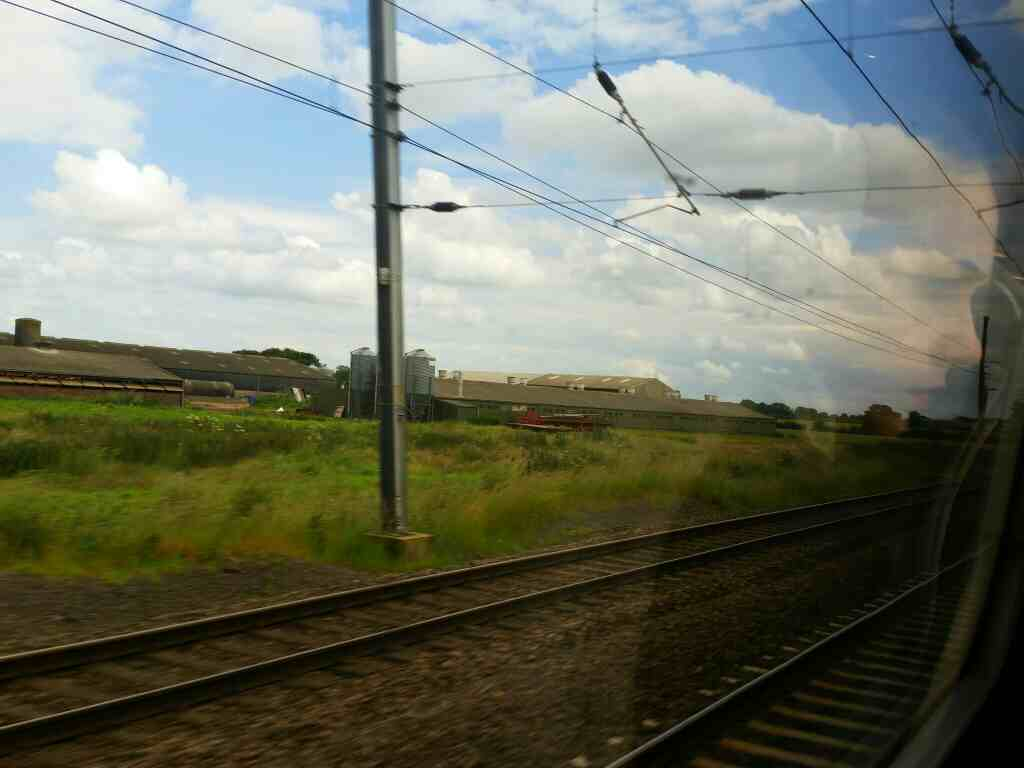 North of Shipton by Beningbrough on the East Coast Mainline