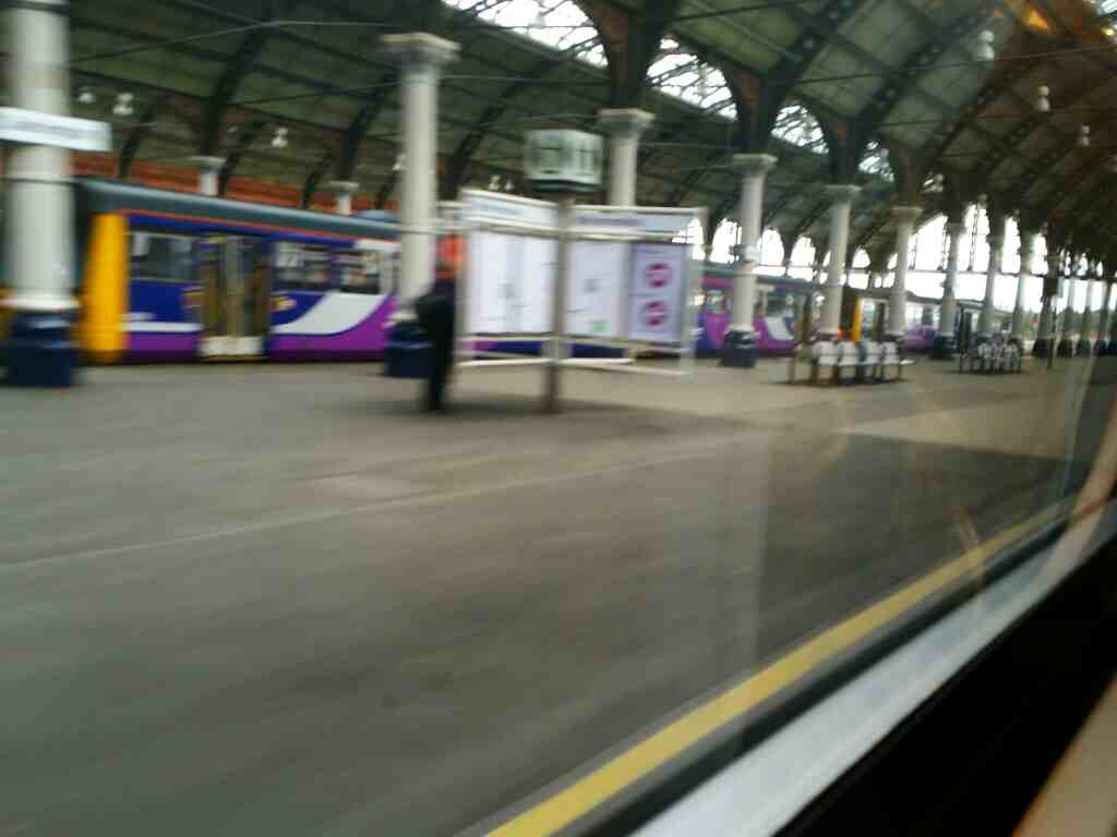 Northern Rail Pacers in Darlington