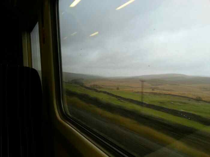 The long drag nearing Ribblehead.