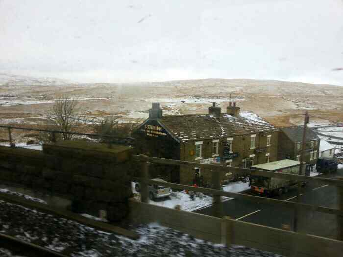 Station inn Ribblehead