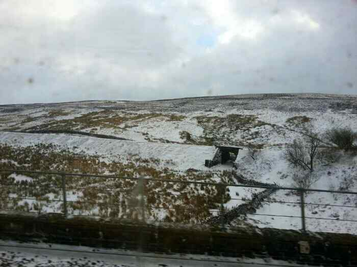 The dissused railway to Hawes.