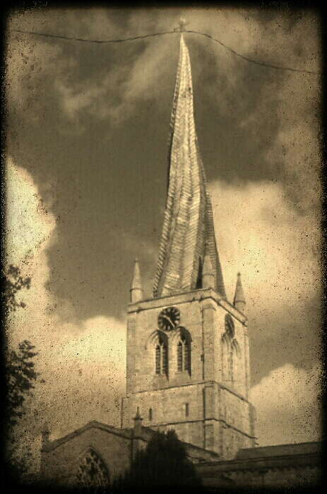 The Crooked Spire Chesterfield Derbyshire.